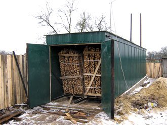 камери для сушiння дров