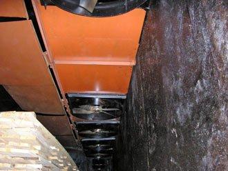 Система повітропроводів для камери сушіння пиломатеріалів