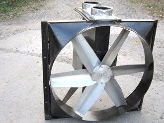 Осьові вентилятори спеціального виконання
