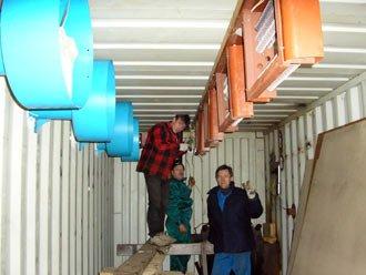 оборудование для лесосушильных камер в Киеве