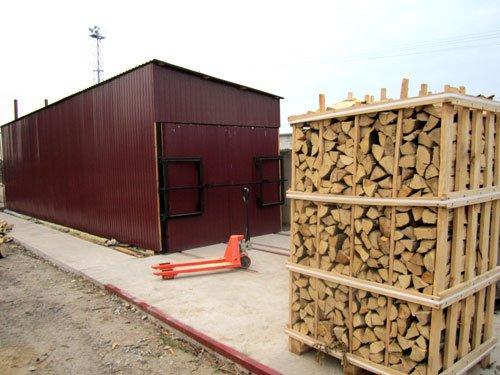 Обладнання для сушіння дров